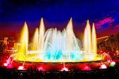 Famous Montjuic Fountain — ストック写真