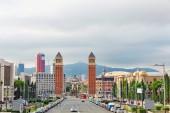 Placa De Espanya in Barcelona — Stock Photo