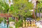 Amusement park near Port Aventura — Stock Photo