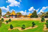 Chinese landscape park — Stock Photo