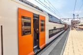 Stazioni ferroviarie in periferia — Foto Stock