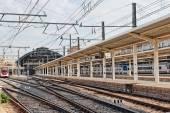 Modern high speed train — Stock Photo