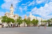 городской пейзаж валенсии в испании — Стоковое фото