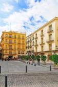 Cityscape of Valencia in Spain — Stock Photo