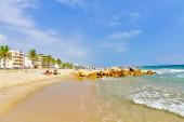 Seafront coast in Segur De Calafel — Stock Photo