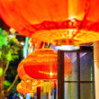 Traditional Chinese red lanterns ( balls). Beijing, China. — Stock Photo #77110967