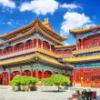 Постер, плакат: Beautiful View of Yonghegong Lama Temple Beijing Lama Temple is