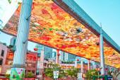 Beijing, Chiny - 20 maja 2015: Największy ekran LSD w worl — Zdjęcie stockowe