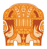Ancient Egyptian Ornament — Vettoriale Stock