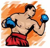 拳击图标 — 图库矢量图片