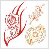 Flower design — Wektor stockowy