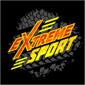 Vector eXtreme sport - moto emblem. — Stock Vector