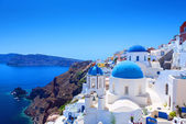 Village of Oia in Santorini — Foto Stock