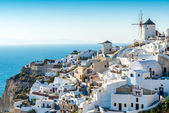 The City of Oia, Santorini — Stock Photo