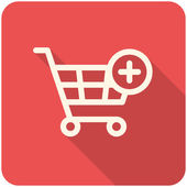 Add to Shopping Cart icon — Cтоковый вектор