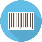 Barcode icon — Stock Vector
