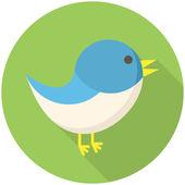 Ikona ptak — Wektor stockowy