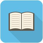 Ícone de livro — Vetor de Stock