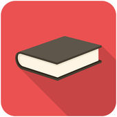 Icono de libro — Vector de stock