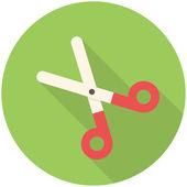 Pair of scissors icon — Stock Vector
