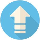 Carregar o ícone — Vetor de Stock