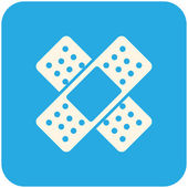 Band Aid icon — Stockvector