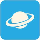 Planet icon — Stock Vector