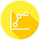 Keyword Rankings icon — Stock Vector