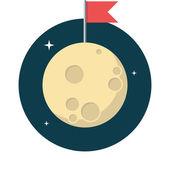 Moon — Stock Vector