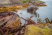 Bateau abandonné — Photo