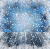 Winter background Graphics winter snow frost project sspace text — Stock Photo