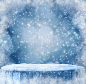 Winter background Graphics winter snow frost projectsspace text  — Foto de Stock