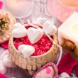 Spa composition Valentines Day heart love body health — Stock Photo #72842135