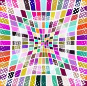 красочные плитки шаблон — Cтоковый вектор