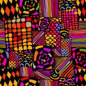 Fondo colorido africano — Vector de stock