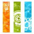 Vector banner backgrounds. — Vector de stock  #59295393