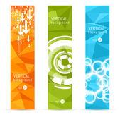 Vector banner backgrounds. — Stock Vector
