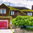 English house with garage — Stock Photo #59340303