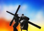 The Road To Calvary — Stock Photo