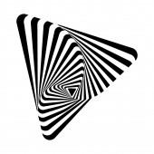 Optical art — Stock Vector