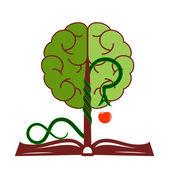 Tree of knowledge. — Stock Vector