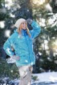 Poca nieve — Foto de Stock