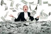 Money rainmoney rainmoney r — Stock Photo