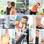 Fitness mixfitness mix — Stock Photo