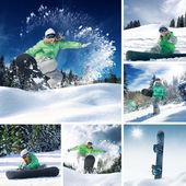 Winter mix — Stock Photo
