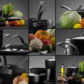 Cookware mix — Stock Photo