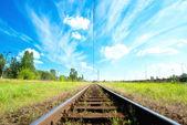 Railroad — Stock Photo