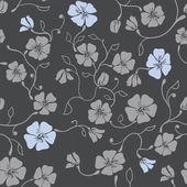 Renaissance Floral Seamless Pattern — Stock Vector