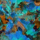 Watercolor seamless pattern — Stock Photo
