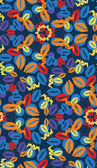 Seamless pattern with different color lips — Stock Photo